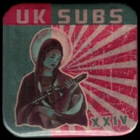 Placka 37x37 U.K. SUBS XXIV