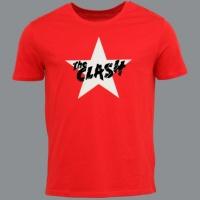 Tričko CLASH star white red