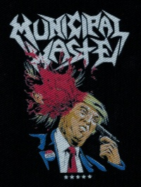 Nášivka MUNICIPAL WASTE trump
