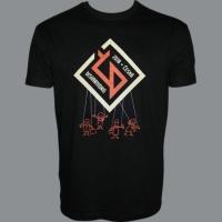 Tričko ČESKÁ DISHARMONIE černé