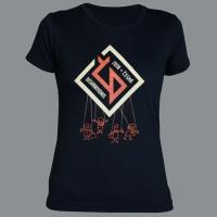 Tričko ČESKÁ DISHARMONIE černé dámské