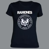 Tričko RAMONES kruh dámské
