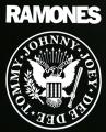 Zádovka RAMONES kruh