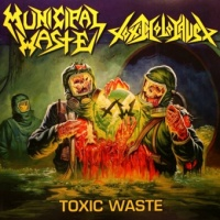 LP - MUNICIPAL WASTE / TOXIC HOLOCAUST split