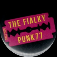 Placka 32 THE FIALKY žiletka pink
