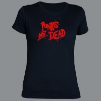 Tričko PUNK´S NOT DEAD clas red dámské