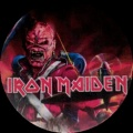 Placka 37 IRON MAIDEN