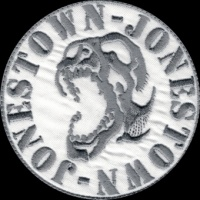 Nášivka JONESTÖWN limited edition vyšívaná