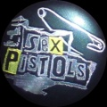 Placka 32 SEX PISTOLS pin silver