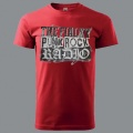 Tričko THE FIALKY punk rock rádio červené