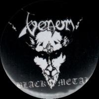 Placka 32 VENOM black metal