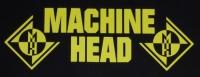 Zádovka MACHINE HEAD yellow