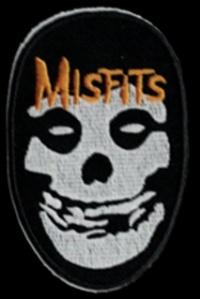 Nášivka MISFITS yellow vyšívaná zažehlovací