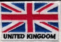 Nášivka UNITED KINGDOM vyšívaná zažehlovací