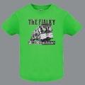 Tričko THE FIALKY punk rock rádio zelené dětské