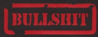 Nášivka BULLSHIT