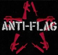 Nášivka ANTI-FLAG sg vyšívaná