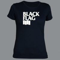 Tričko BLACK FLAG dámské
