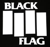 Zádovka BLACK FLAG