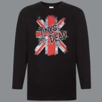 Tričko PUNK´S NOT DEAD flag clas rukáv