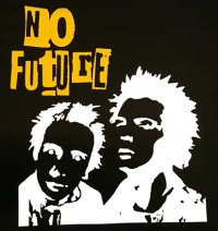 Zádovka SEX PISTOLS no future