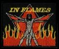 Nášivka IN FLAMES vyšívaná zažehlovací