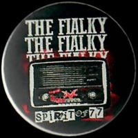 Placka 25 THE FIALKY spirit of 77
