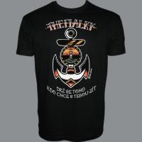 Tričko THE FIALKY kotva