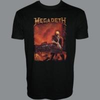Tričko MEGADETH peace hm