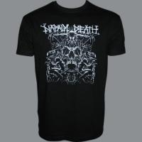 Tričko NAPALM DEATH skull hm