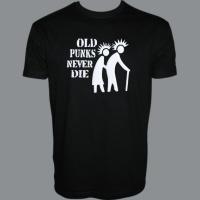 Tričko OLD PUNKS duo