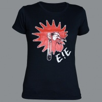 Tričko E!E kohout dámské