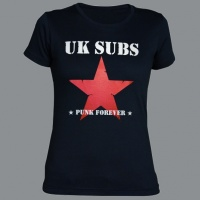 Tričko U.K. SUBS punk forever dámské